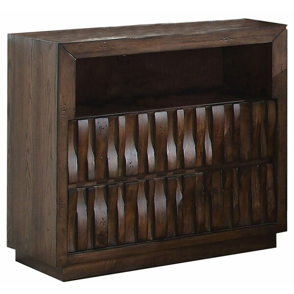 Dayna 2 Drawer Nightstand by Millwood Pines