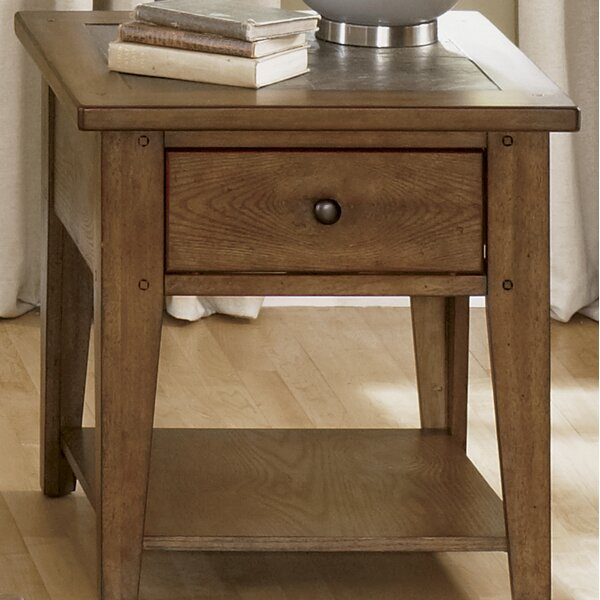 Warfel Occasional End Table by Charlton Home