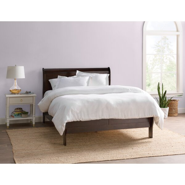 Richard Sleigh Bed by Charlton Home