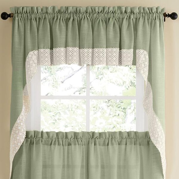 Kitchen Swag Curtains | Wayfair
