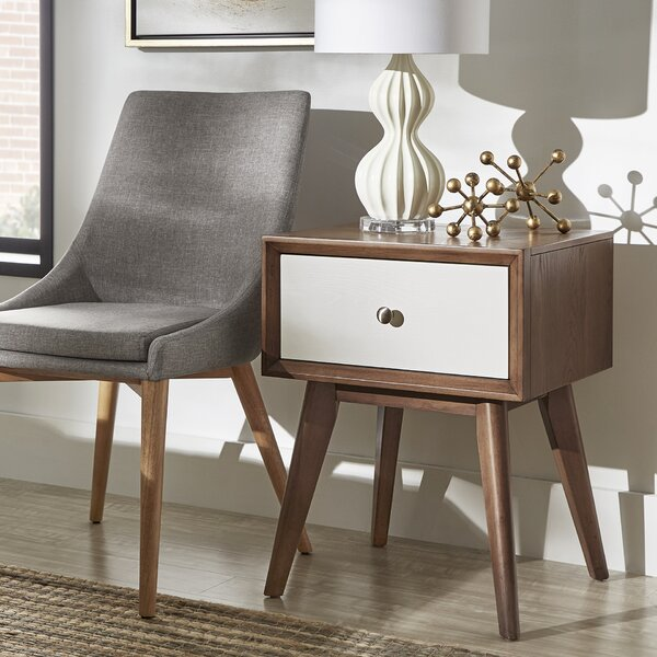 Angelo 1 Drawer Nightstand by Langley Street
