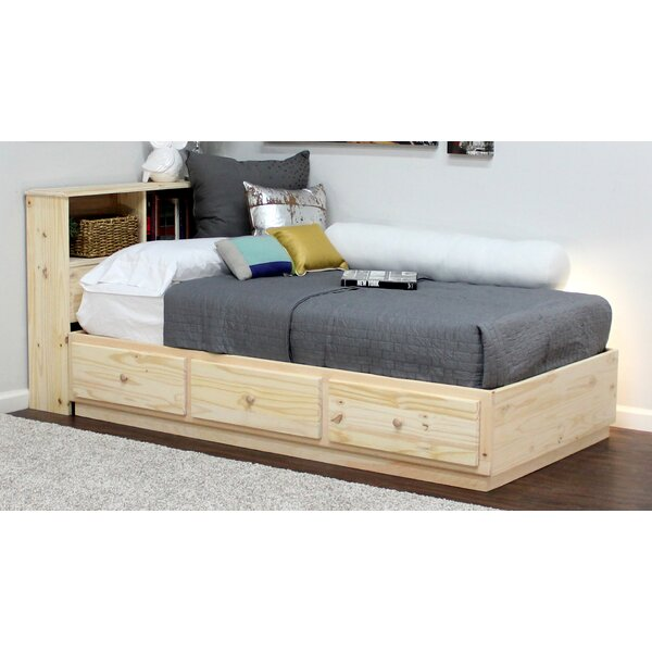 Twin Platform Bed by Gothic Furniture