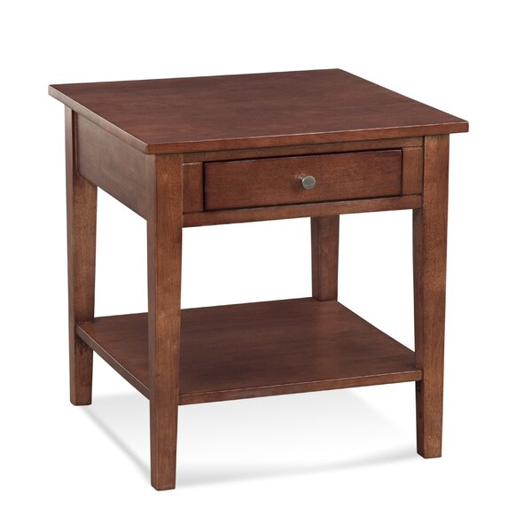 South Hampton End Table with Strorage by Braxton Culler Braxton Culler