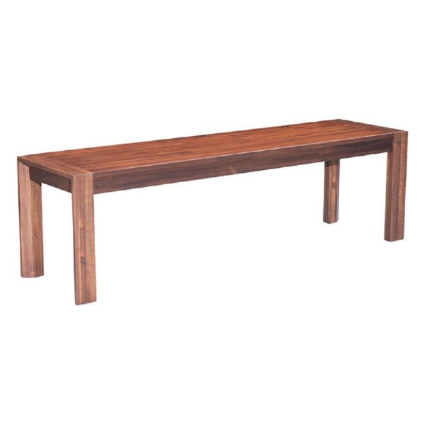 Drumlee Wood Bench by Gracie Oaks