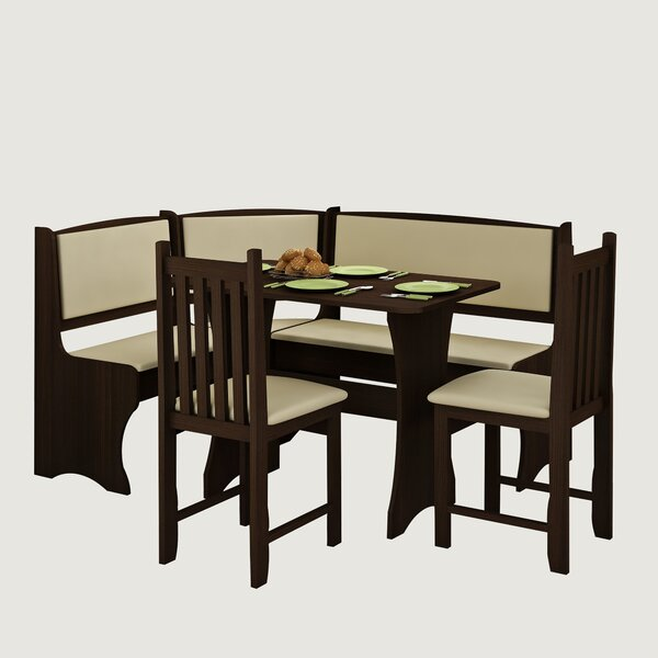 Everby 4 Piece Breakfast Nook Dining Set by Red Barrel Studio
