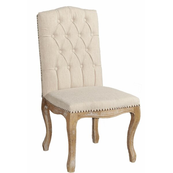 Alcorn Fabric Upholstered Side Chair (Set Of 2) By Ophelia & Co.
