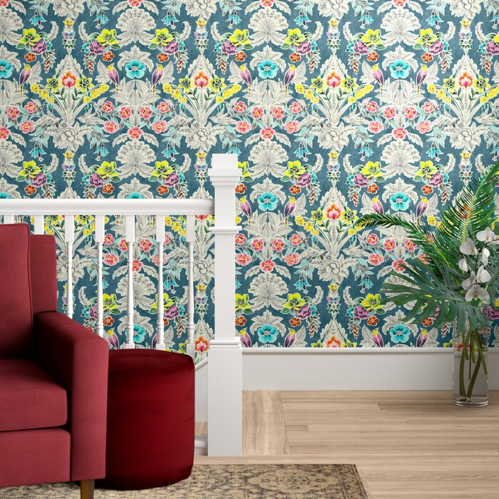 Asuncion Semi Gloss Peel And Stick Wallpaper Roll