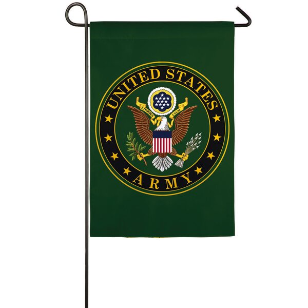 American Army Polyester 1.5 x 1 ft. Garden Flag by Evergreen Enterprises, Inc