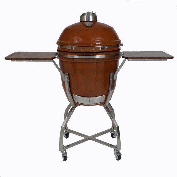 31.5 Kamado Charcoal Grill by Hanover