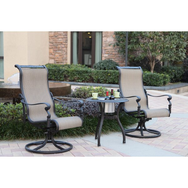 Bagwell 3 Piece Bistro Set by Darby Home Co