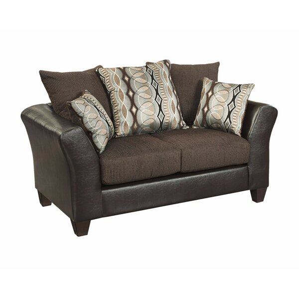 Paleczny Chenille Loveseat By Ebern Designs Discount