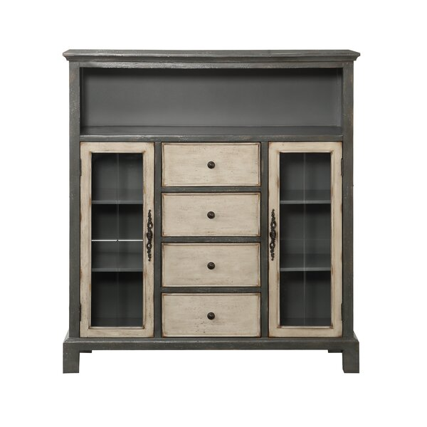 McRoy 4 Drawer Accent Cabinet by August Grove