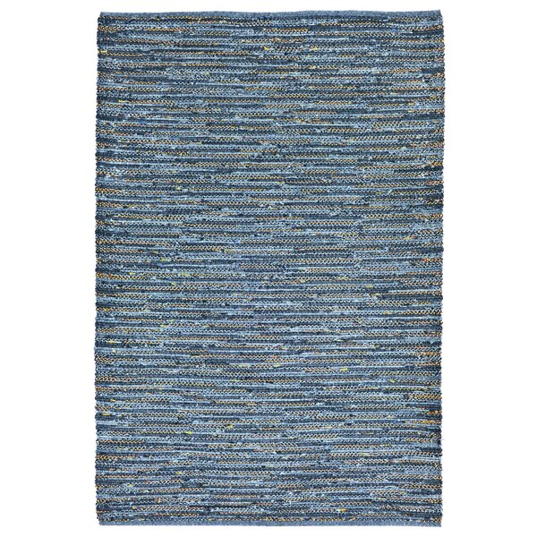 Sardis Hand-Woven Blue Indoor/Outdoor Area Rug by August Grove