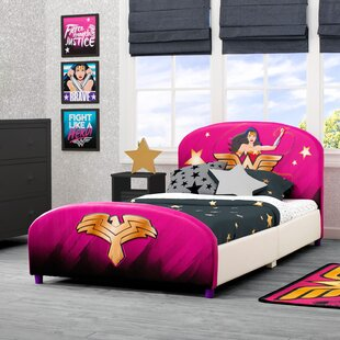 Best Deals DC Comics Wonder Woman Upholstered Twin Bed ByDelta Children