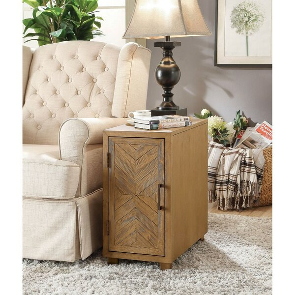 Figaro 1 Door End Table With Storage By Union Rustic