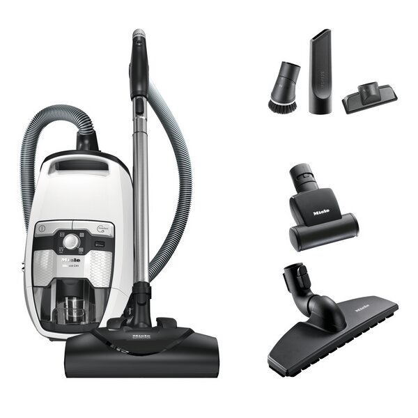 Blizzard CX1 Cat and Dog Bagless Canister Vacuum by Miele