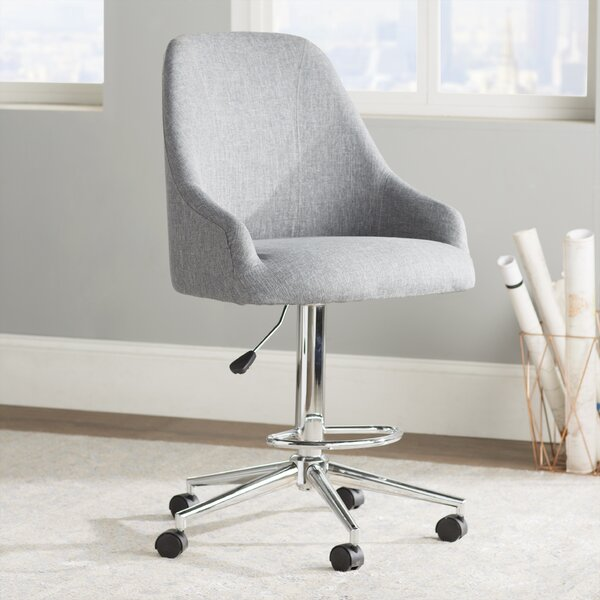 Coldiron Drafting Chair by Mercury Row
