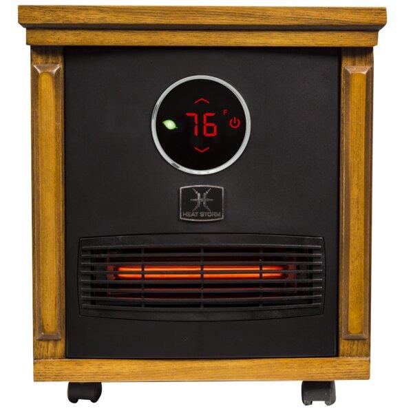 Smithfield Portable 1,500 Watt Electric Infrared Cabinet Heater By Heat Storm