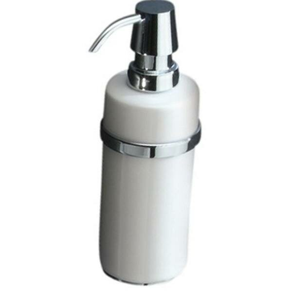 Martindale Wall Mounted Porcelain Pump Soap & Lotion Dispenser by Latitude Run