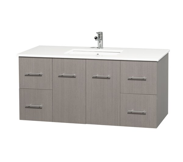 Centra 48 Single Bathroom Vanity by Wyndham Collection