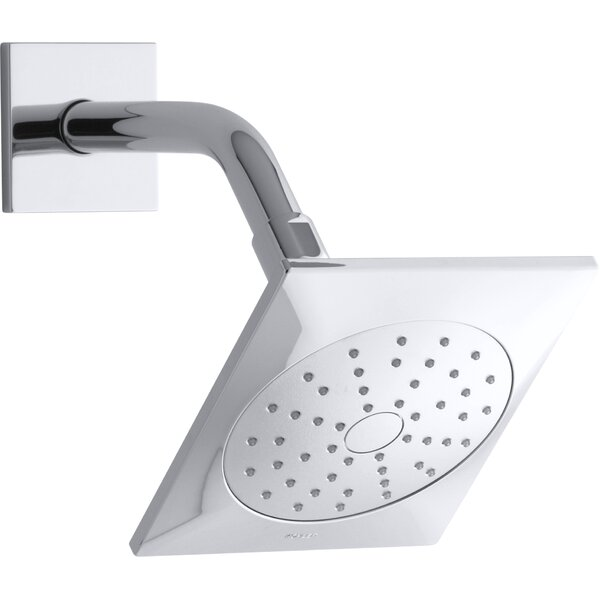 Kohler Loure 1.75 GPM Single-Function Showerhead With Katalyst Air-Induction Technology By Kohler
