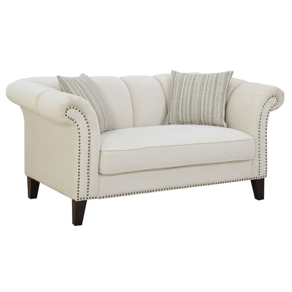 Rocha Chesterfield Loveseat by Alcott Hill
