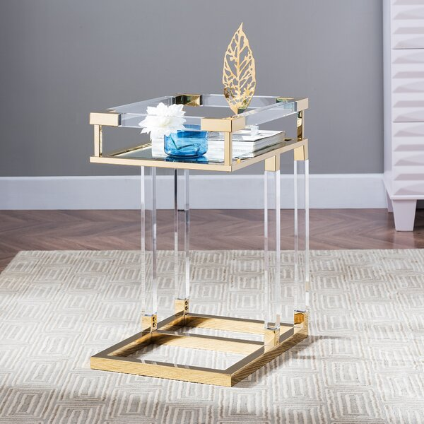 Guilford End Table by Everly Quinn