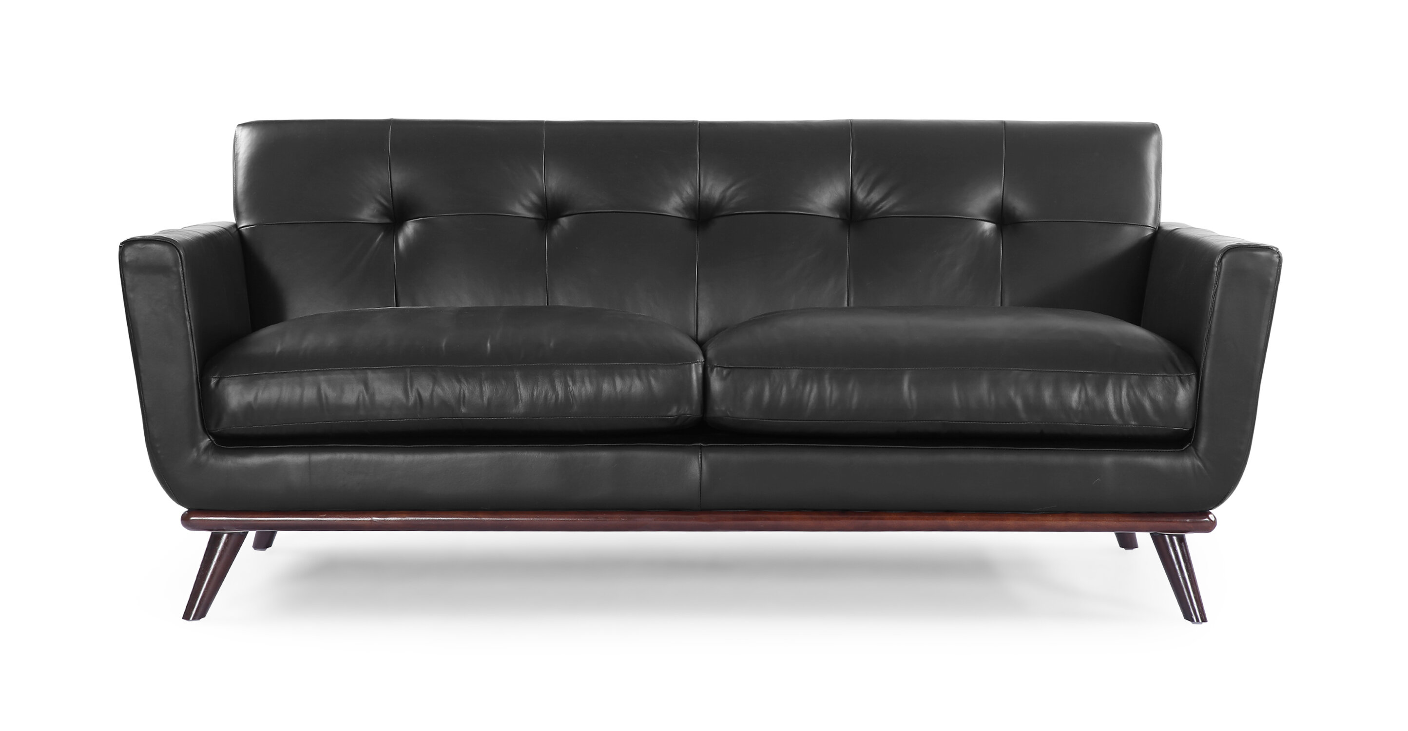 mid century modern leather sofa. Mid Century Modern Leather Sofa E