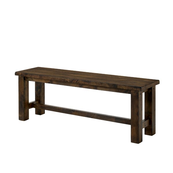 Garlington Wood Bench by Loon Peak