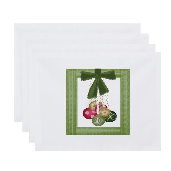 Frame It Up Placemat (Set of 4) by The Holiday Aisle