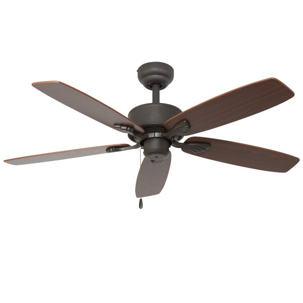 52 Philadelphia 5-Blade Indoor Ceiling Fan with Remote by Alcott Hill