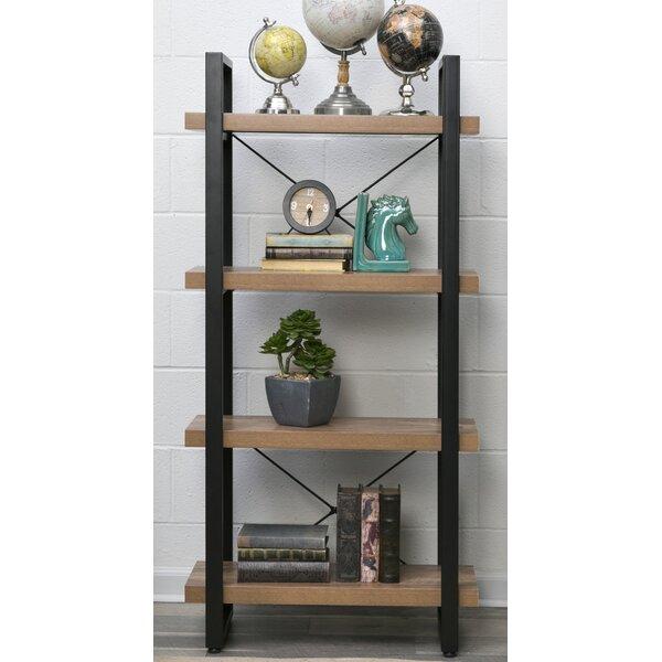 Rainey 55 H x 27.55 W 4-Tier Bookshelf by Union Rustic