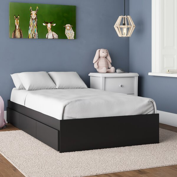 Acord Storage Platform Bed with Drawers by Mack & Milo
