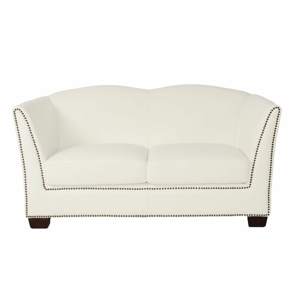 Marilyn Leather Loveseat by Lazzaro Leather