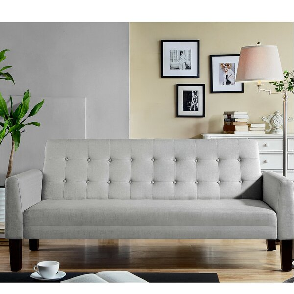 Best #1 Tynemouth Convertible Sleeper Sofa By Ebern Designs Cool