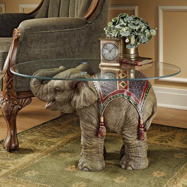 Jaipur Elephant Festival Coffee Table by Design Toscano