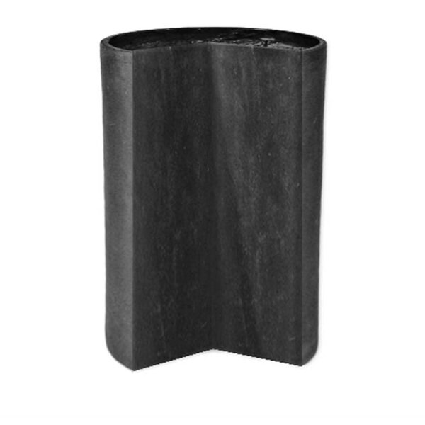Fitted Modular Cylinder Resin Stone Pot Planter by Amedeo Design