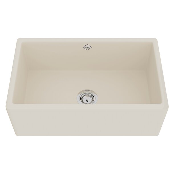 Shaker Bowl Front 30 L x 18 W Farmhouse Kitchen Sink