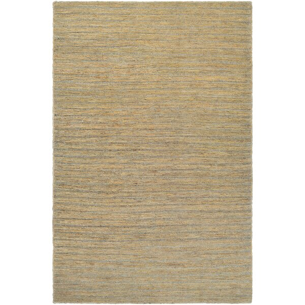 Hand-Woven Bone Area Rug by Trent Austin Design