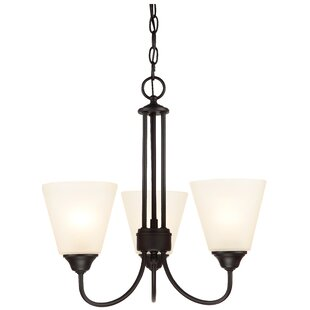 Find the perfect Galveston 3-Light Shaded Chandelier By Hardware House