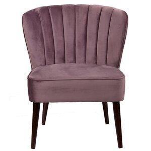 Alchiba Channeled Slipper Chair by Willa Arlo Interiors