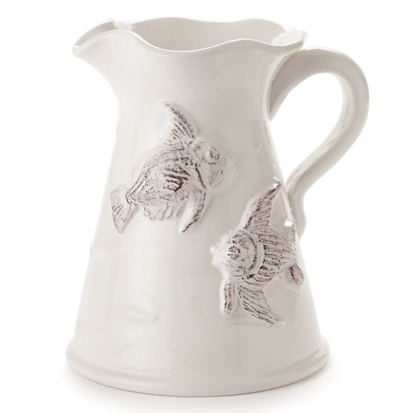 Montvale Fish Pitcher by Rosecliff Heights