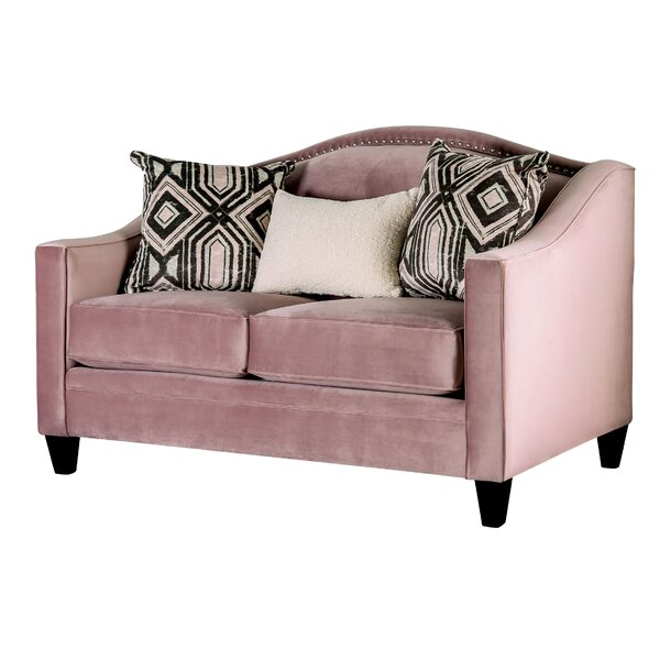 Scholl Loveseat By Everly Quinn