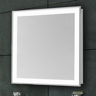 Auden Edge Electric Bathroom/Vanity Mirror ByLatitude Run