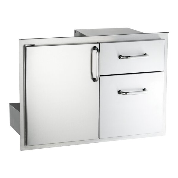 Storage Door with Double Cabinet by American Outdoor Grill