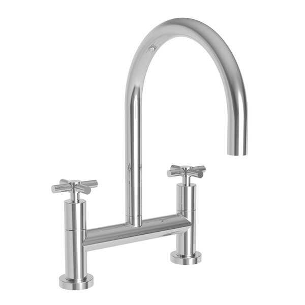 East Linear Kitchen Bridge Faucet By Newport Brass
