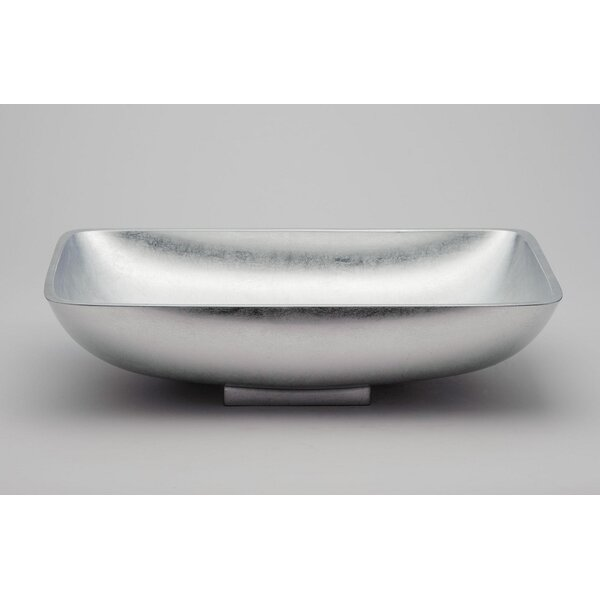 Vetro Freddo Rectangular Vessel Bathroom Sink by Maestro Bath