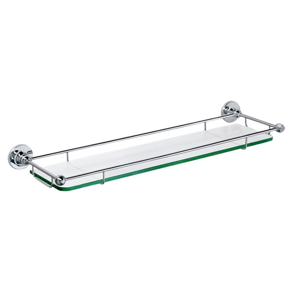 Glass Taborets Wall Shelf by Gatco