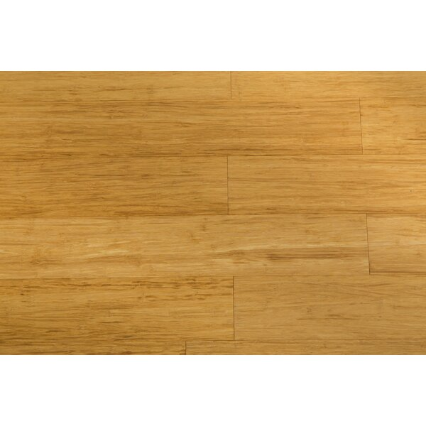 4-5/7 Engineered Strandwoven Bamboo Flooring in Wheat by ECOfusion Flooring