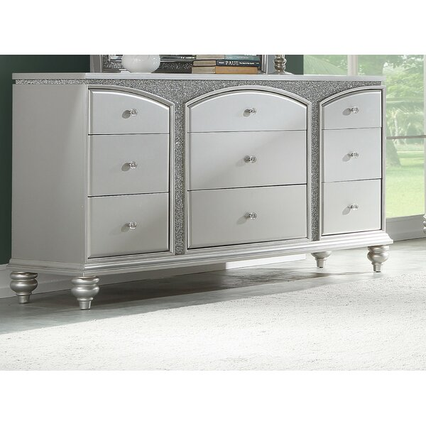 Fuson 9 Drawer Double Dresser by House of Hampton